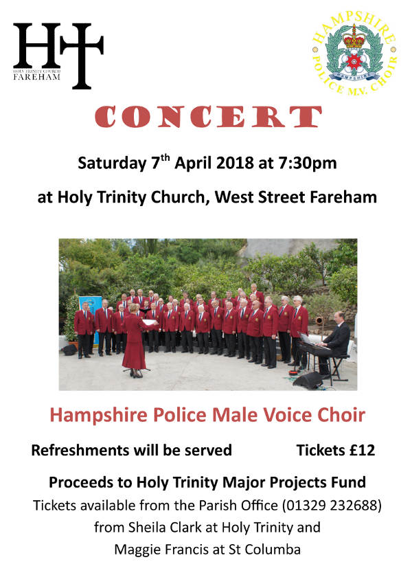 Holy Trinity Concert - 7 April 2018